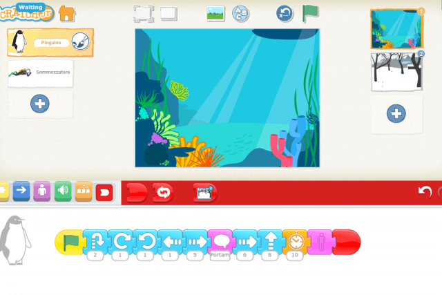 TUTORIAL - CREARE UNA STORIA ANIMATA CON SCRATCH JR