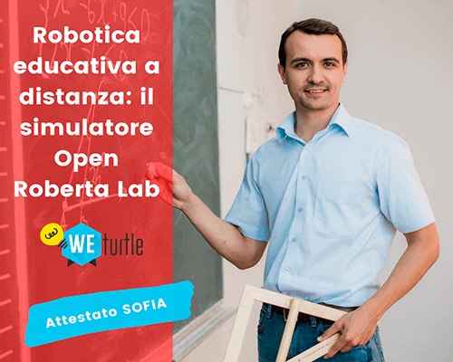 Robotica educativa a distanza: il simulatore Open Roberta...