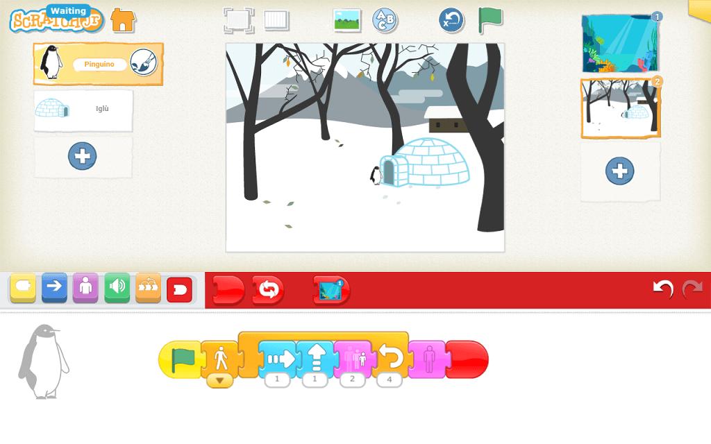 Come Creare Il Viola tutorial - creare una storia animata con scratch jr